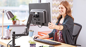 10-Best-Single-Monitor-Desk-Table-Arm-Mount-For-Workplace