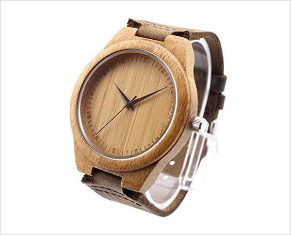 Fashion-Bamboo-Wooden-Watch-Japan-Movement-Quartz-With-Genuine-Cowhide-Leather