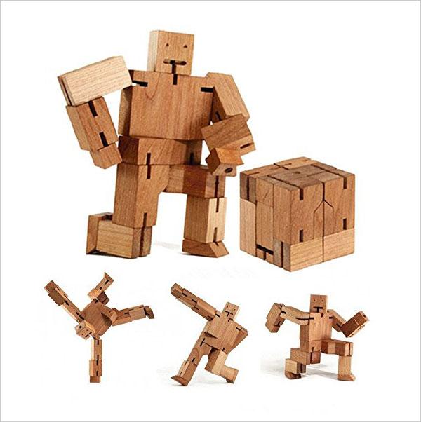 Folding-wooden-cube