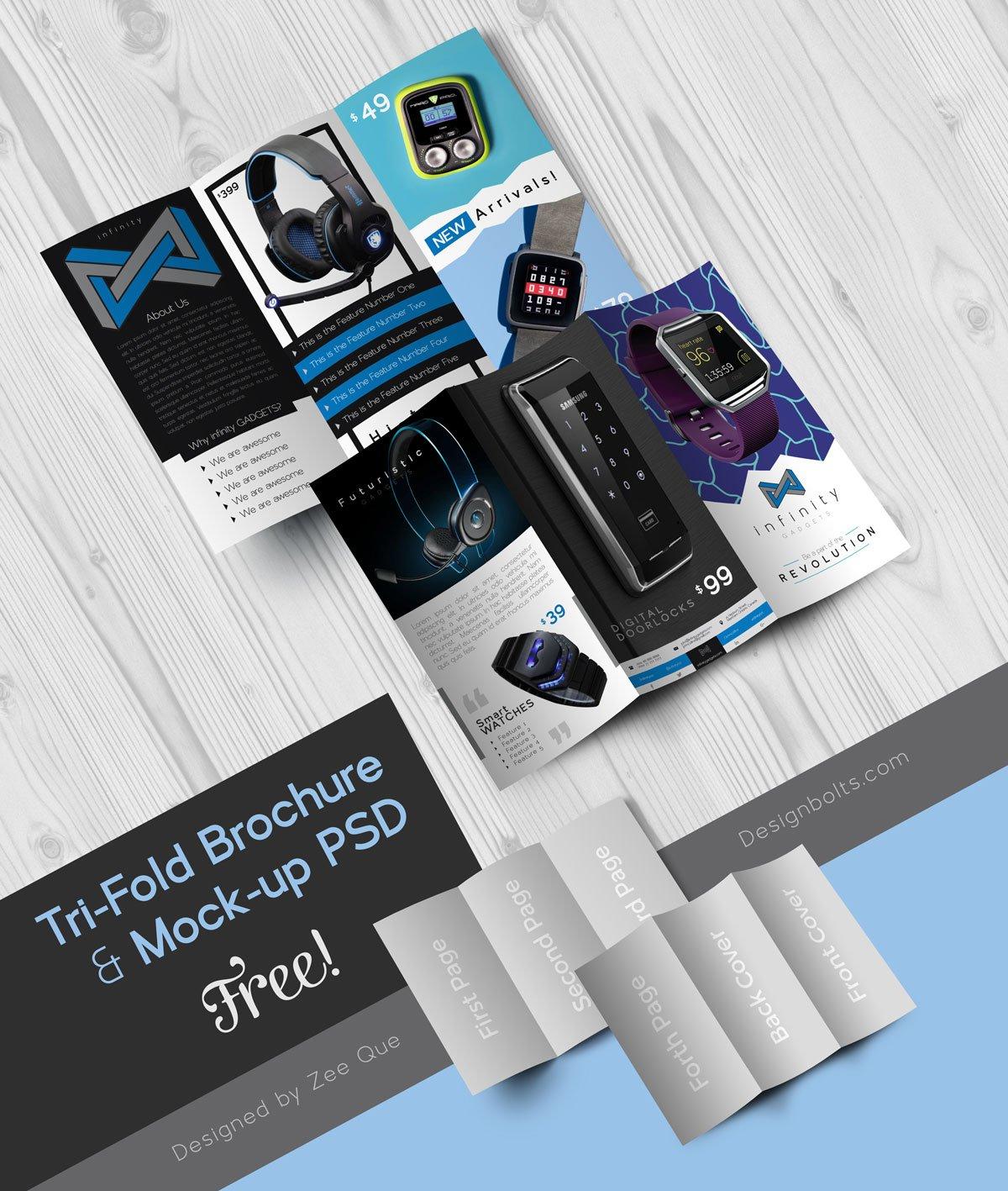 Free-Tech-Gadgets-Tri-Fold-Brochure-Design-Template-&-Mock-up-PSD