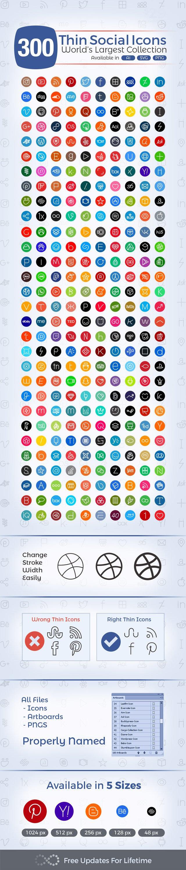 Free-Thin-Social-Media-Icons-2017