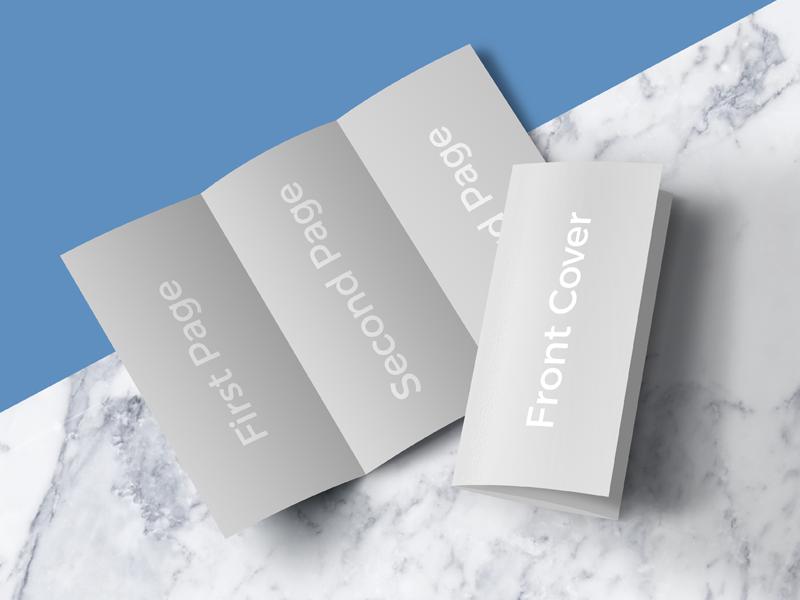 Leaflet Design Psd Free Download