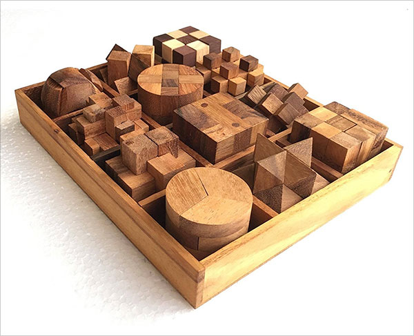 Handmade-Puzzle-Sets---Twelve-Brain-Teasers