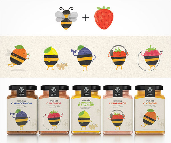 Honey-Berries-Packaging-Designs