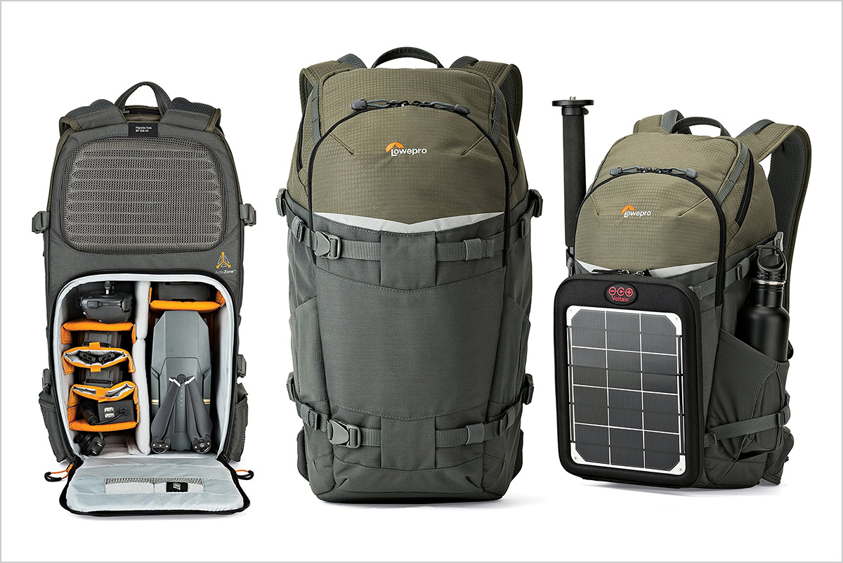 Lowepro Flipside Trek Bp Large Travel Camera Backpack