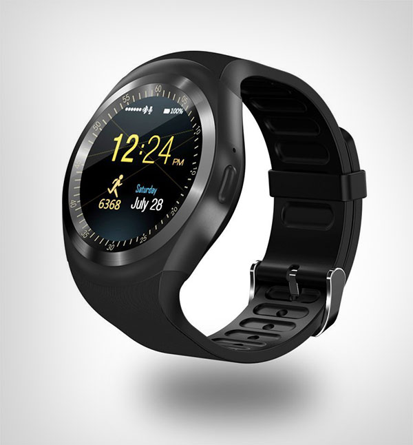 SEPVER-SN05-Round-Bluetooth-Smart-Watch