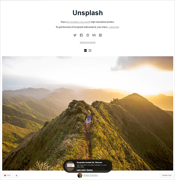 Unsplash-best-free-stock-photo-websites