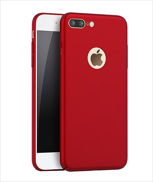 custodia per iphone 7 red