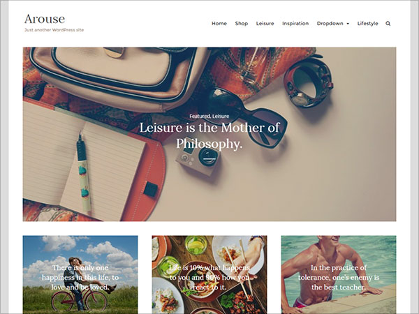 Arouse-clean-well-coded-WordPress-theme-built-for-bloggers