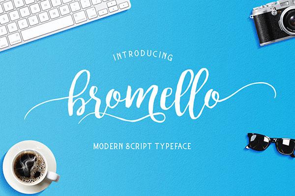 Bromello-free-scipt-font-download