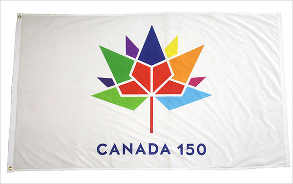 CANADA-150-Year-Anniversary-1867---2017-3-x-5-Feet-White-Flag