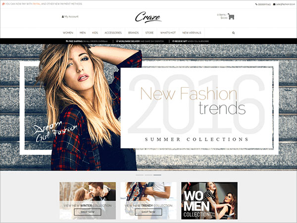 Craze-is-WordPress-eCommerce-theme-based-on-WooCommerce-plugin