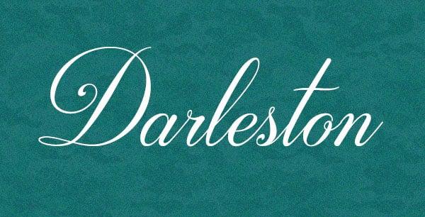 Darleston Free Font Calligraphy 2017