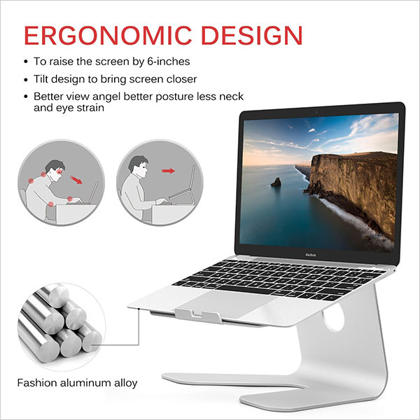 Elec3-Premium-Aluminum-Laptop-Stand-for-Macbook-Macbook-Pro-Macbook-Air,-Notebooks-and-Other-Tablets-2