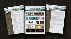 Free-Modern-Resume-CV-Portfolio-Cover-Letter-Design-Template-Ai-2