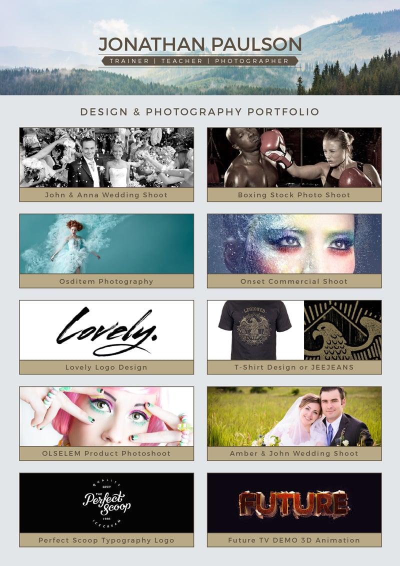 free professional modern resume  cv   portfolio page  u0026 cover letter design template  u2013 designbolts