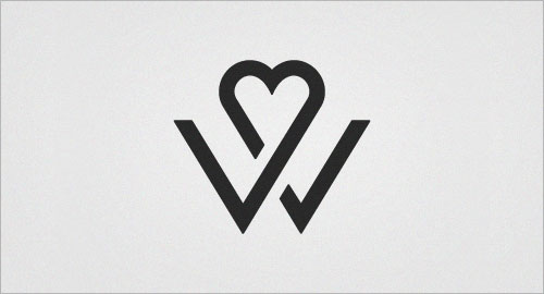 Letter W Design - ReusableArt.com  |The Letter W Designs