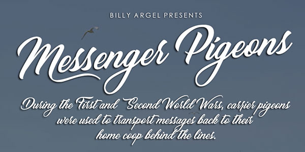 Messenger-Pigeons-free-calligraphy-font-2017