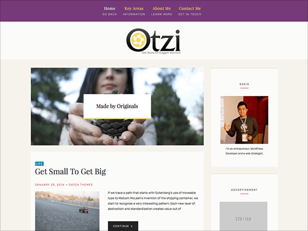 Otiz-Lite-WordPress-theme-for-bloggers