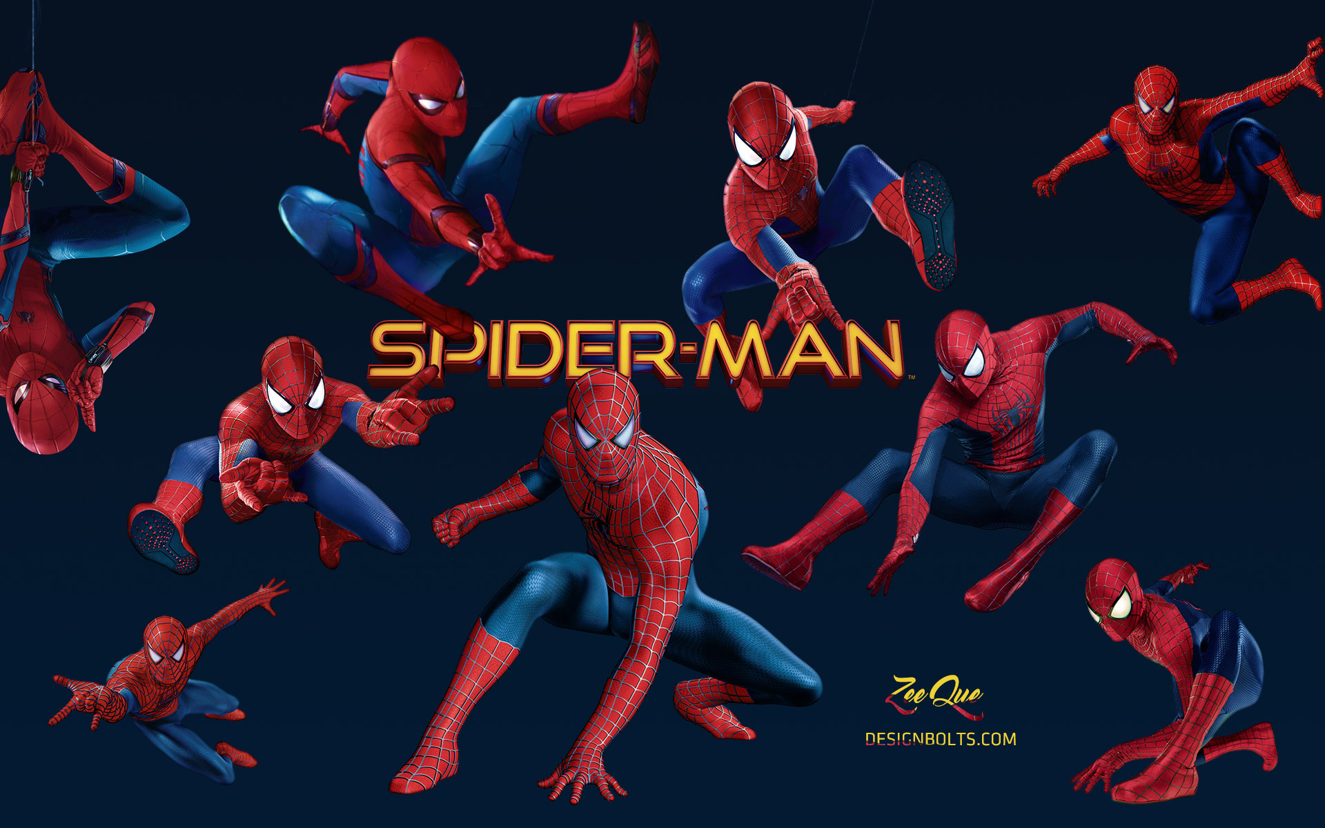 Spider Man Homecoming Wallpaper HD 1920 X 1080