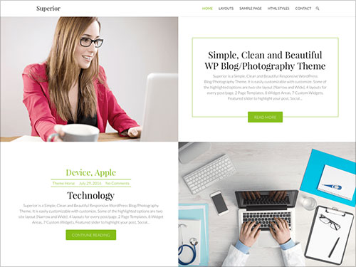 Superior-Simple-Responsive-WordPress-Blog--Photography-Theme