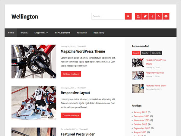Wellington-clean-and-simple-Magazine-WordPress-theme