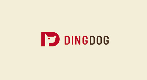 dingdog-D-Letter-Animal-logo