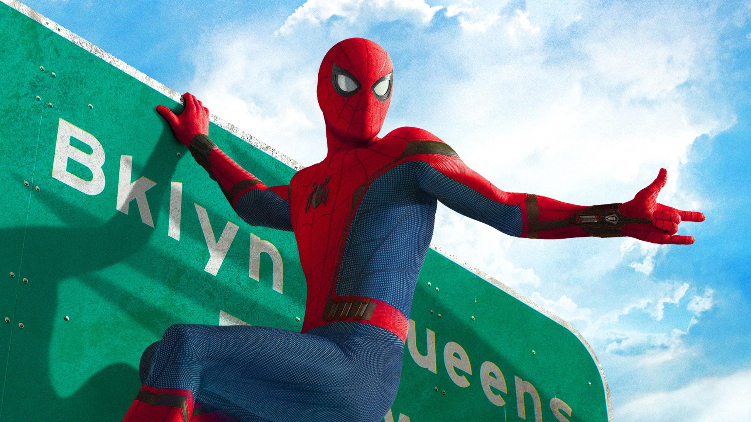 Spider Man Homecoming 2560x1440 Hd Wallpaper