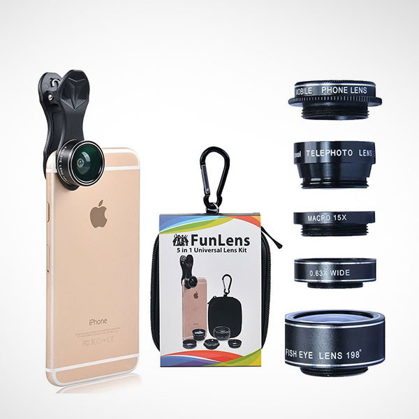 5-in-1-Universal-Clip-On-Cell-Phone-Camera-Lens-Kit-for-iPhone-7-Plus