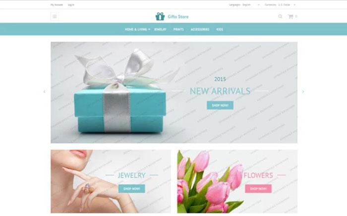 Gift Store OsCommerce Theme