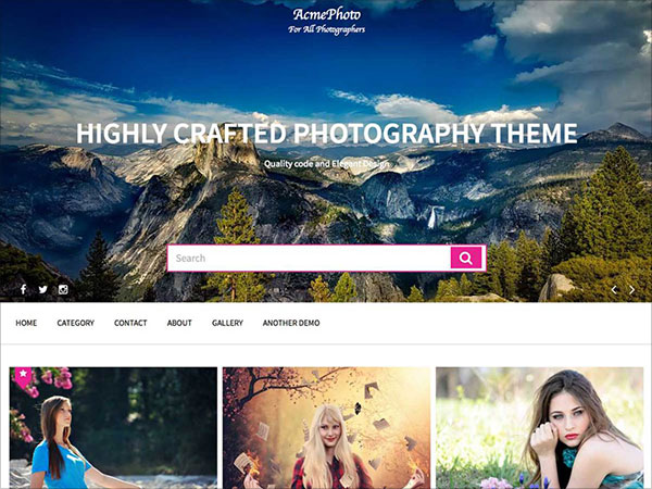 AcmePhoto-one-of-the-best-WordPress-photography-Theme-2017
