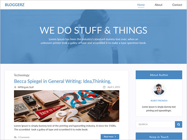 Bloggerz-easy-and-joyful-wp-theme-for-blogging
