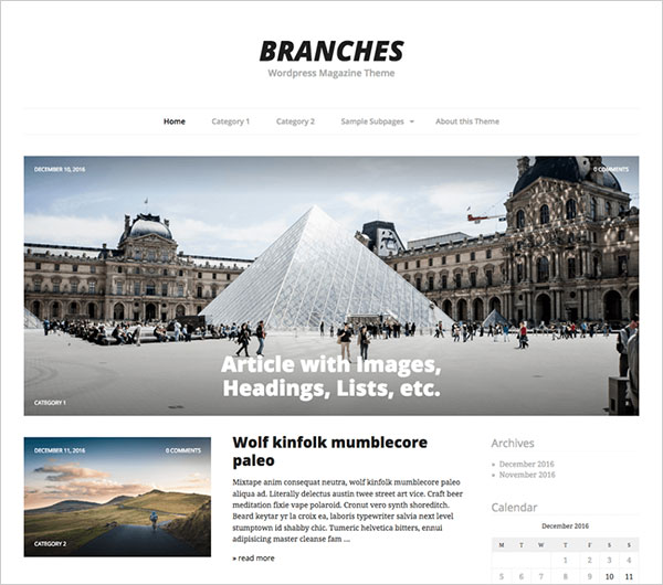 Branches-simple,-minimalistic-magazine-blog-theme