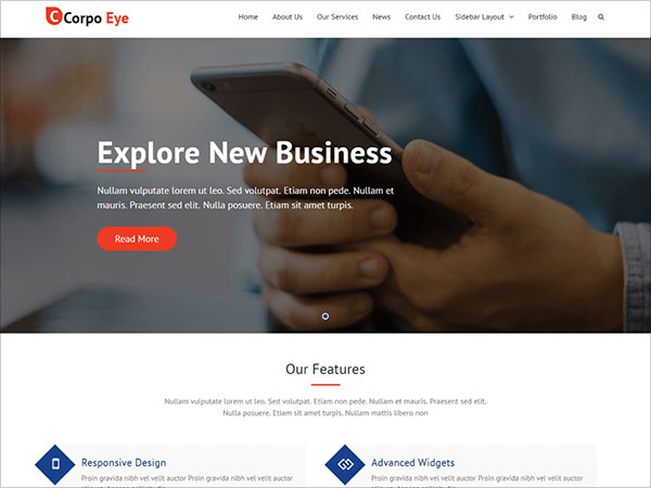 Corpo-Eye-modern-and-robust,-versatile-business-wordpress-theme-of-may-2017