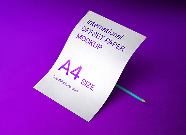 Free-A4-Offset-Paper-Mockup-PSD-For-Letterhead-Designs