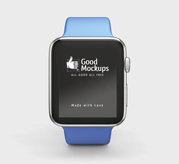 Free-Apple-Watch-Mockup-PSD-with-Blue-Sport-Band