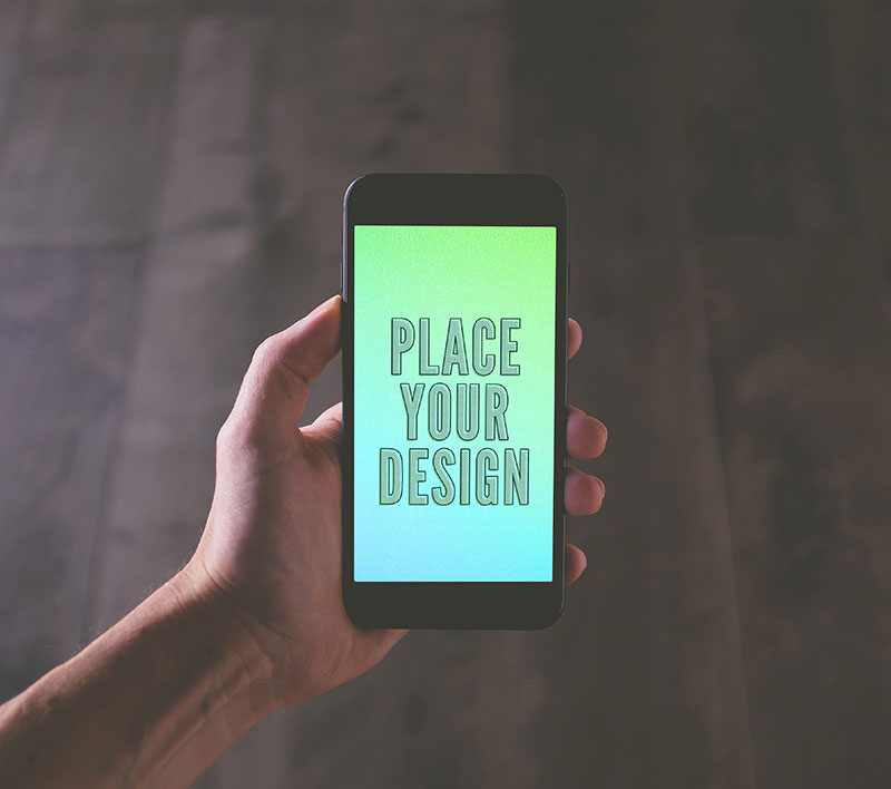 Free-Jet-Black-iPhone-7-Plus-Photo-Mockup-PSD-2