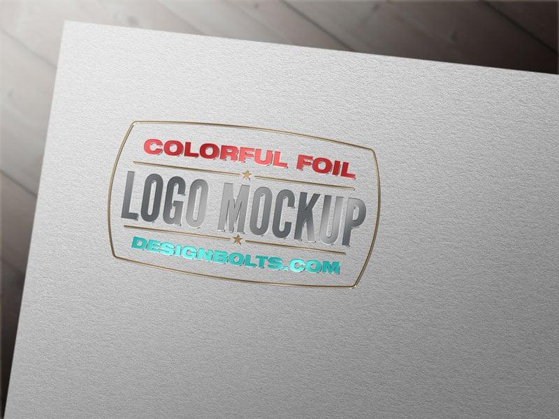 Free-Silver-Foil-Logo-Mockup-PSD