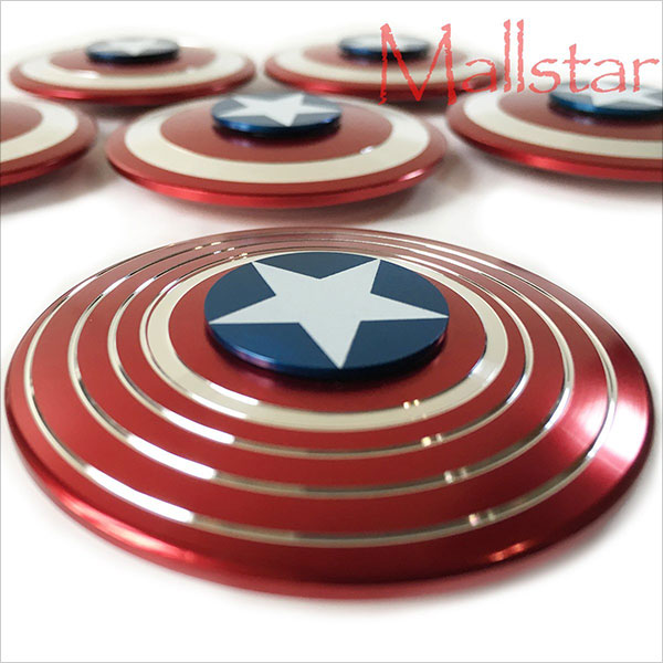 Hand-Spinner-Fidget-Gyro-Toy-Captain-Shield-Dual-Design-2