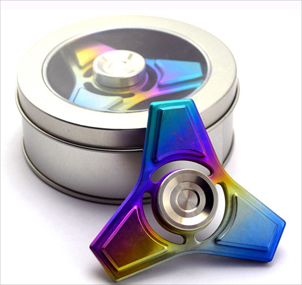 High-Speed-Spinning,-Exquisite-&-DurableTitanium-alloy-Finger-Spinner-Toy