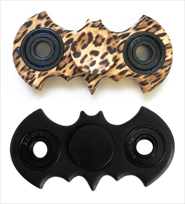 Leoie-Interesting-Fidget-Spinner-Bat-Shape-Finger-Spinner
