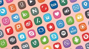 Premium-300-Cute-Social-Media-Icons