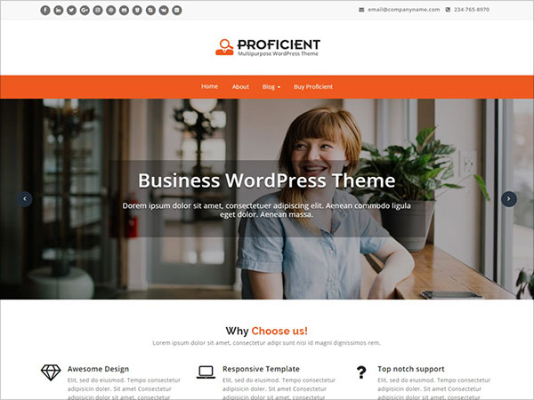 Proficient-Multipurpose-WordPress-theme-best-for-any-business