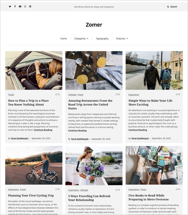 Zomer-clean-light-and-elegant-wordpress-theme-2017