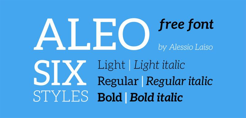 ALEO-Free-Font-Family