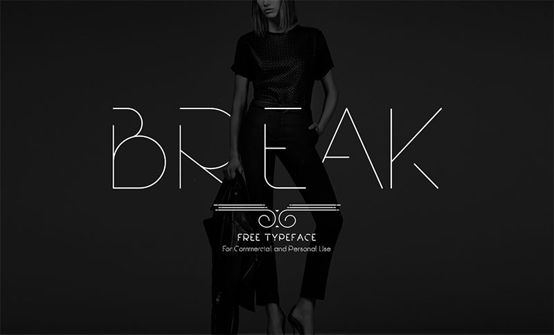 Break-Free-Font-Download