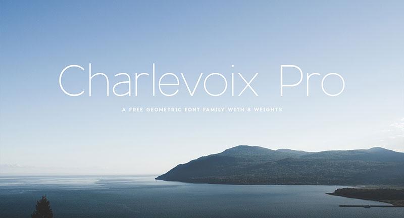 Charlevoix-Pro-Free-Font