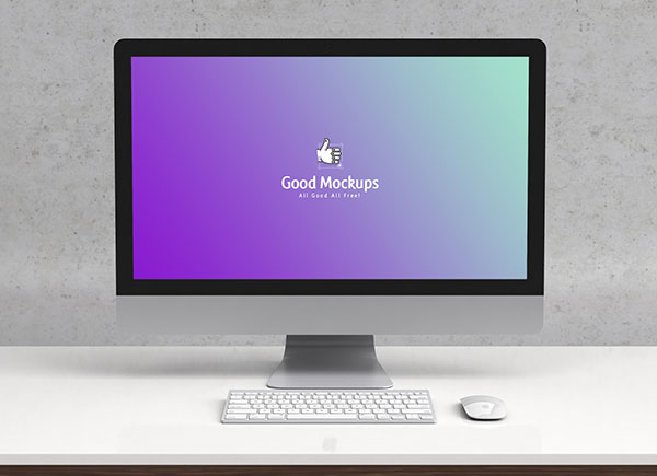 Free-Apple-iMac-on-Desk-Mockup-PSD