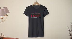 Free-Black-Half-Sleeves-T-Shirt-Mockup-PSD-Template-5