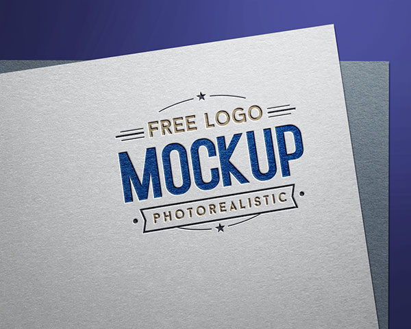 Free-Debossed-Color-Logo-Design---Logotype-Mockup-PSD